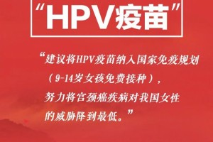 免费接种HPV疫苗初次被提案